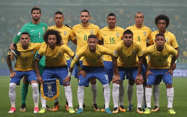 76e518228b Seleção Brasileira define a numeração de jogadores para a Copa do Mundo