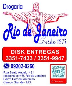 Drogaria Rio de Janeiro vermelhado