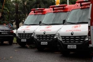 SAMU ambulancia
