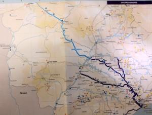 Mapa ferrovia